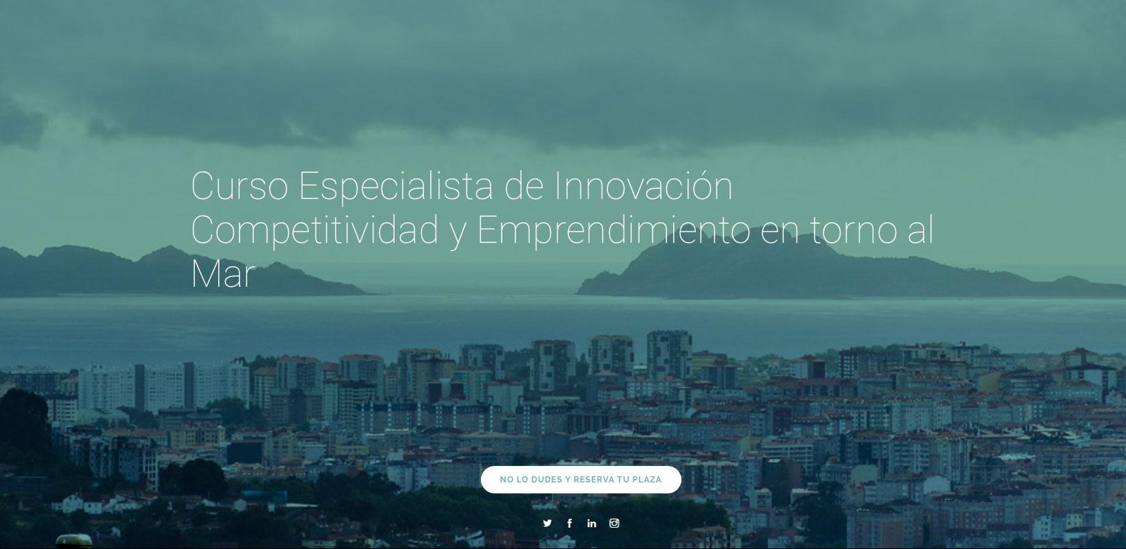 Curso Innovación Competitividad y Emprendimiento en torno al Mar